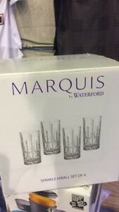 Marquis by Waterford Sparkle High Ball Glasses-New