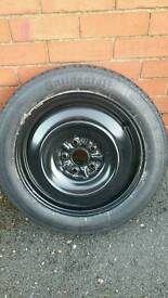 Toyota space saver spare wheel. 5x114.3 pcd