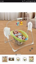 Fisher price musical swinging chair