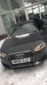 Audi A1 1.6 TDI SE 66 REG Full service history MOT due 9/2019 brilliant condition inside and out.