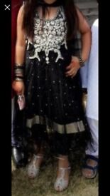 Girls Anarkali dress size 7-8