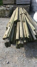 25mm x 38mm x 4.8 battens treated to clear