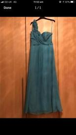 Baby Blue Prom/ Evening/Cruise dress