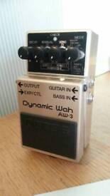 BOSS Guitar Pedal/Dynamic Wah AW-3