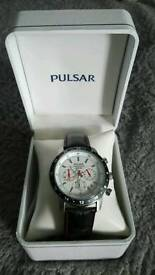 Pulsar watch, water resistant