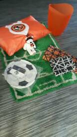 FOOTBALL BEDROOM ACCESSORIES DUFC FOOTBALL ITEMS