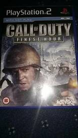 Ps 2 game call of duty