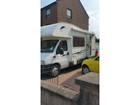 05 Carioca 625 motorhome on 2.3 diesel Fiat Ducato base.Low mileage new mot £18500 ono