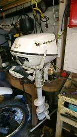 Johnson 5hp outboard