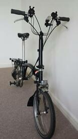 Brompton M6R In Black Good Condition