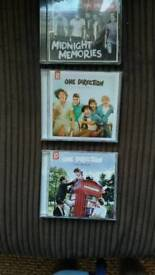 One direction cd albums x 3