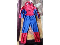 Spiderman Ages 3 4 Boys Halloween Fancy Dress Childs Costume