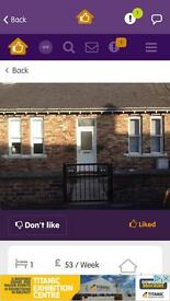 1 bed bungalow for swap