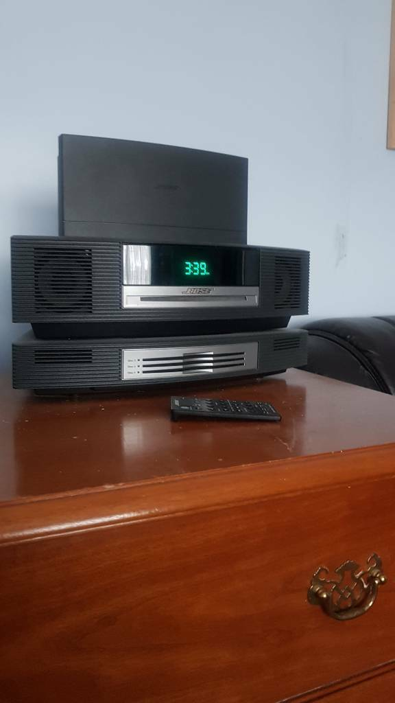 Bose sound system with dab and 3 CD unit