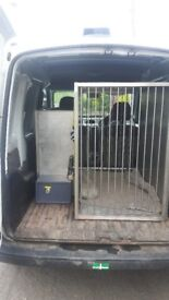 Renault Kangoo Van for Sale, full service history, fitted dog crates. Ideal for dog walkers.