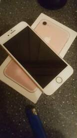 IPhone 7 32gb rose gold ee
