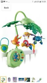 Fisher price cot mobile £20