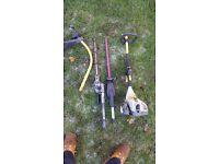 Ryobi hedge cutter/strimmer multi tool
