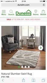 Dunelm rug in good condition