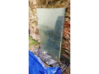 4 Sheets of Toughened Glass 6mm Thick.