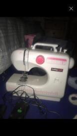Sewing machine hobby craft