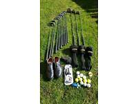 Golf clubs full set with extras