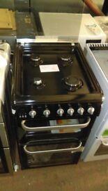 HOTPOINT black 50cm Gas Cooker ex display