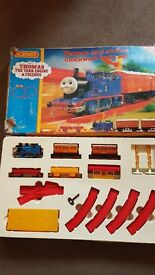 Vintage Thomas The Tank Engine Clockwork Trainset