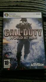 Call of duty... pc game