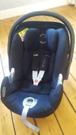Cybex aton Q car seat platinum