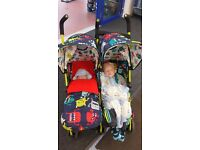 Double Pushchair - Cosatto Supa Dupa Cuddle Monster 2