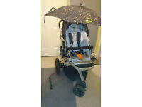 Quinny Buzz 3 Buggy Pram Pushchair stroller with extra seat cover(black)