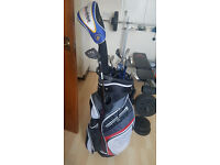 Golf Set - Complete - Includes Golf Set Bag, 8 irons (new), 1 driver (used), 1 putter (new)