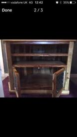 Matching tv unit and table sell or swap