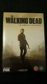 The walking dead dvd season 5