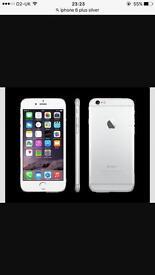 iPhone 6 Plus 32gb sliver like brand new £350