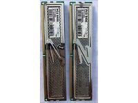 RAM - OCZ 2GB (2x1GB) DDR2 PC2-6400 Platinum Edition