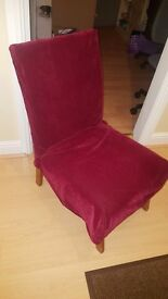 Chair, needs a bit of loving. Free.