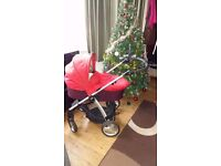Mamas & Papas buggy in red colour