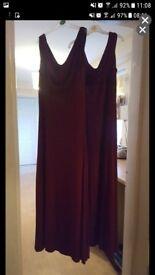 2 bridemaid dresses