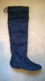 Wholesale/Job lot box of Ladies over knee boots - Car Boot or Market