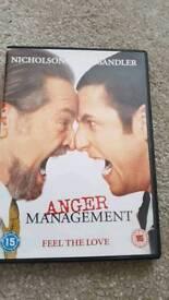 Anger Management DVD Adam Sandler Jack Nicholson