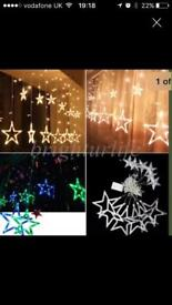 Star xmas lights
