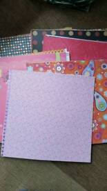 12 x 12 card and paper stock for card making and scrapbooking crafts set 2