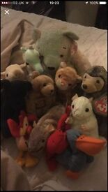 Small bundle of beanie babies