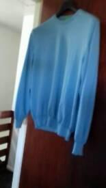 Hugo boss jumper blue size xl -green label