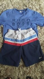 Bous hugo boss set