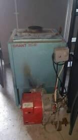 Boiler and burner