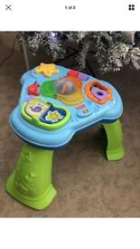 Fisher price baby playing station