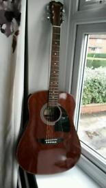 Acoustic Washburn guitar